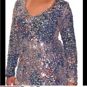 Sequins Mini Dress